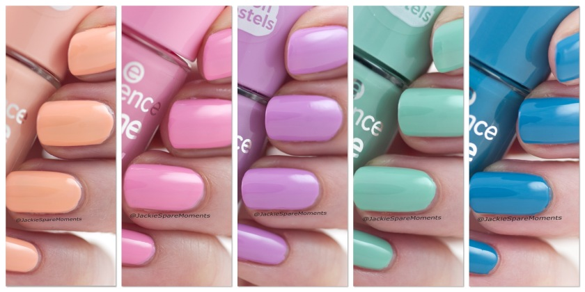 Essence neon pastel nail polish