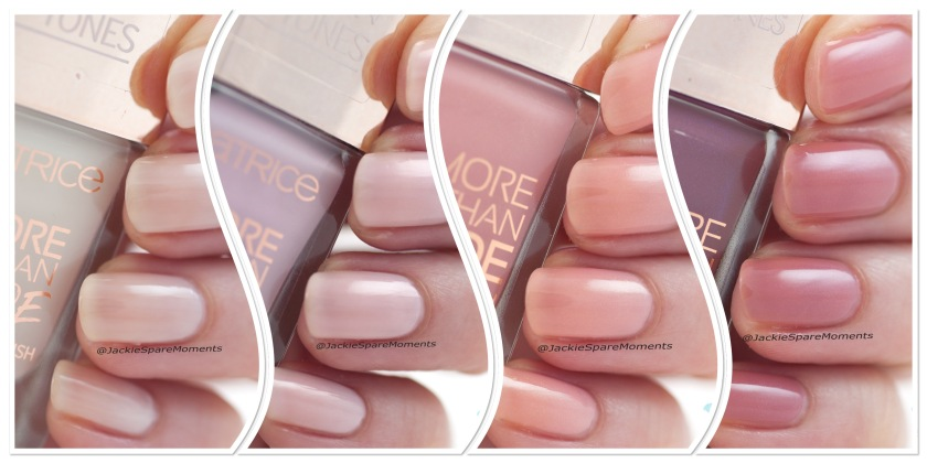New colours Catrice More Than Nude nail polish