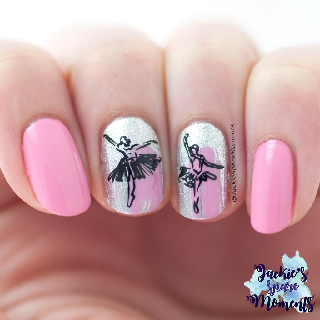Ballet nail art