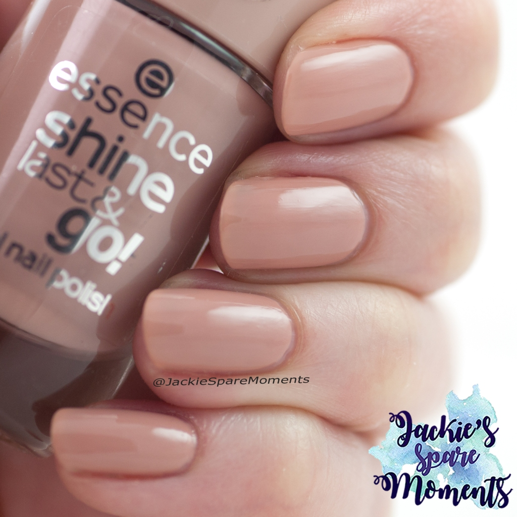 Essence shine last & go gel nail polish 80 Castles in the sand