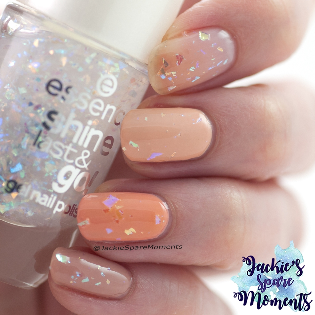 Essence shine last & go gel nail polish 68 A star is born over neutral polishes